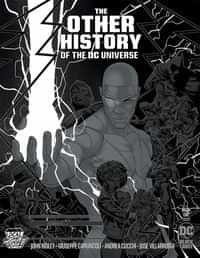 Other History Of The Dc Universe #1 Variant LCSD Jamal Campbell Silver Metallic Ink
