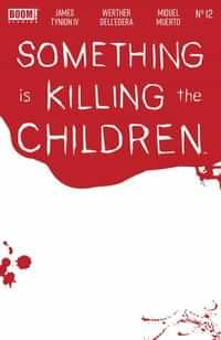 Something Is Killing Children #12 Variant Bloody Blank Sketch