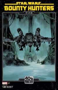 Star Wars Bounty Hunters #7 Variant Sprouse Empire Strikes Back