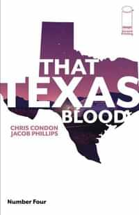 That Texas Blood #4 Second Printing