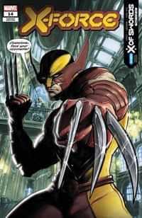 X-force #14 Variant Ferreyra