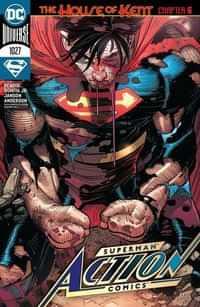Action Comics #1027 CVR A John Romita Jr
