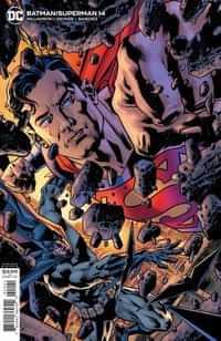 Batman Superman #14 CVR B Bryan Hitch