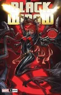 Black Widow V10 #4 Variant Skan Knullified