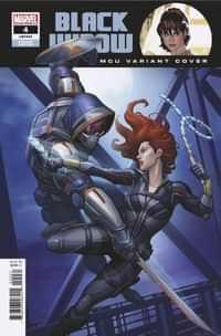 Black Widow V10 #4 Variant Brown Mcu
