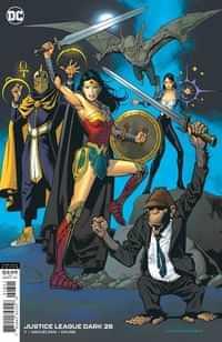Justice League Dark #28 CVR B Kevin Nowlan
