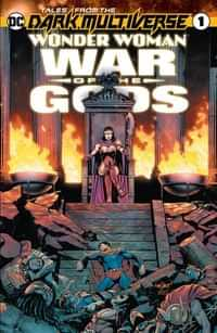 Tales From The Dark Multiverse One-Shot Wonder Woman War Of The Gods