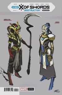 X Of Swords Destruction #1 Variant 10 opy Larraz Design