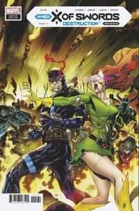 X Of Swords Destruction #1 Variant 50 Copy Stegman