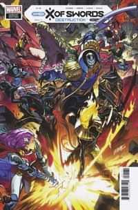 X Of Swords Destruction #1 Variant Larraz Connecting