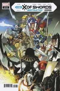 X Of Swords Destruction #1 Variant Yu