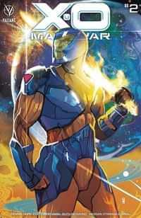 X-o Manowar #2 CVR A Ward