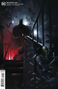 Batman #104 CVR B Cardstoc Francesco Mattina