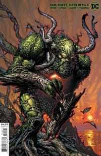 Dark Nights Death Metal #6 CVR B David Finch Swamp Thing