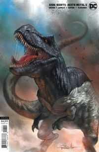 Dark Nights Death Metal #6 CVR D Lucio Parrillo B Rex