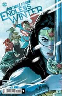 Justice League Endless Winter #1 CVR A Mikel Janin
