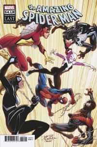 Amazing Spider-man #54.lr Variant Bagley