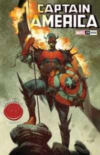 Captain America #26 Variant Tedesco Knullified