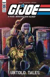 GI Joe #277 A Real American Hero CVR A Shearer