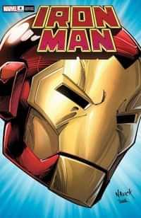 Iron Man #4 Nauck Headshot