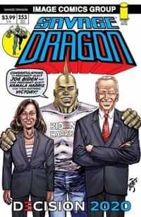 Savage Dragon #253 Second Printing Biden Harris
