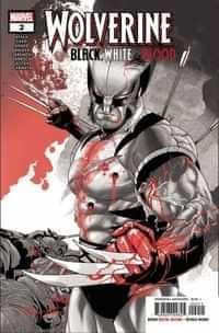 Wolverine Black White Blood #2