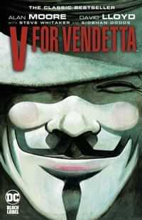 V For Vendetta TP Black Label Edition