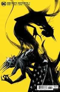 Dark Nights Death Metal #7 CVR D Jae Lee Batman Who Laughs