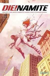 Die!namite #3 CVR E Suydam Homage Spider-man Zombie