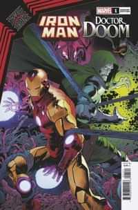 King In Black Iron Man Doom #1 Variant Mora