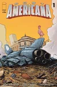 Post Americana #1 CVR C Guerra