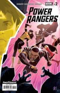 Power Rangers #2 CVR A Scalera