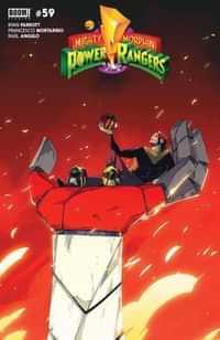 Power Rangers #2 CVR B Nicuolo