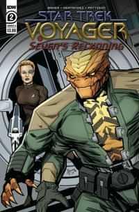 Star Trek Voyager Sevens Reckoning #2 CVR A Hernande