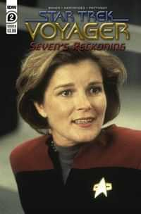 Star Trek Voyager Sevens Reckoning #2 CVR B Photo