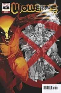 Wolverine #8 VariantSienkiewicz
