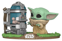 Funko Pop Star Wars Mandalorian Child with Canister
