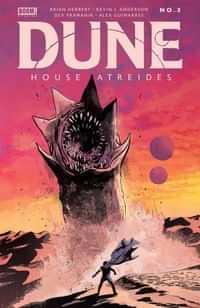 Dune House Atreides #3 CVR A Lee