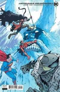 Justice League Endless Winter #2 CVR B Cardstock Daniel Warren Johnson