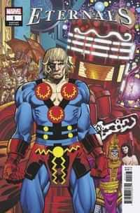 Eternals #1 Variant Simonson