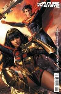 Future State Superman Wonder Woman #1 CVR B Cardstock Jeremy Roberts