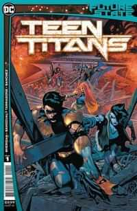 Future State Teen Titans #1 CVR A (First Canon Appearance Red X)