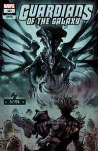 Guardians Of The Galaxy #10 Variant Larraz Marvel Vs Alien Var Kib
