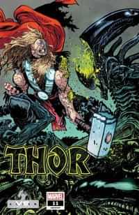 Thor #11 Variant Daniel Warren Johnson Marvel Vs Alien