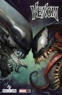 Venom #32 Variant Brown Marvel Vs Alien Var Kib