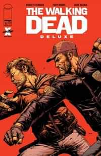 Walking Dead #6 Deluxe Edition CVR A Finch and Mccaig