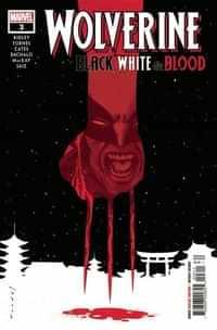 Wolverine Black White Blood #3