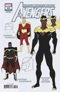 Avengers #41 Variant 10 Copy Garron Design