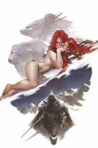 Cimmerian Frost Giants Daughter #2 Variant 10 Copy Mercado Virgin In