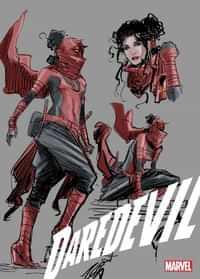Daredevil #25 Variant Seecond Printing Ratio Design